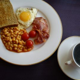 Time for a full English?