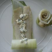Fish, Leek, Cheese, roll