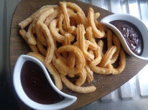 Churros for sharing