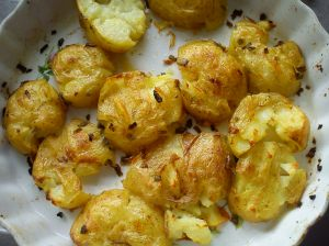 Ready crispy potatoes