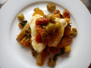 Milk poached fish & Poêlée of Butternut Squash