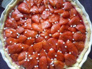 Glorious Strawberry tart